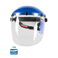 Щиток защитный лицевой СИБИН, экран из поликарбоната, реечный механизм / 11089