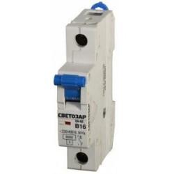 Автоматические выключатели 1-полюсные (6 кА)