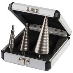 Набор ступенчатых сверл (Р6М5; 3 шт.) по металлу Зубр / 29670-3-20-H3