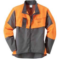 Куртка STIHL ECONOMY PLUS, антрацитовая/оранжевая, размер S / 0000-883-4948
