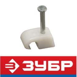 Скоба-держатель для круглого кабеля (ЗУБР, Россия)