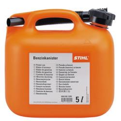 Канистра для бензина STIHL 5 л, оранжевая / 0000-881-0200