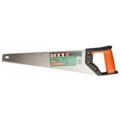 Ножовка DEXX по дереву, 5 TPI, 400 мм / 1502-40