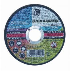 Круг шлифовальный абразивный по металлу ЛУГА 150*6 мм / 3650-150-06