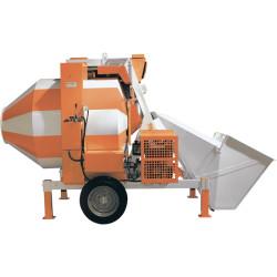 Бетоносмеситель Строймаш СБР-1200А (с дизельным двигателем) 25-30 метров куб./ч, 1200 л, 15кВт / 95462