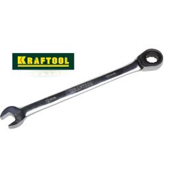Ключи комбинированные трещоточные (Kraftool, Германия)