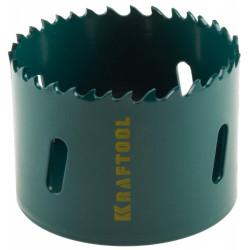 Коронка KRAFTOOL биметаллическая, EXPERT, прогрессивное расположение зубьев, Ø14 мм / 29521-014