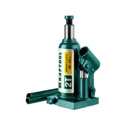 Домкрат гидравлический бутылочный KRAFTOOL KRAFT LIFT (2 тонны + высота: от 160 до 310 мм) / 43462-2