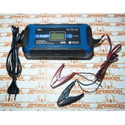 """Зарядное устройство ЗУБР """"ПРОФЕССИОНАЛ"""" (12В, 8А, автомат, IP65, AGM, GEL, WET) / 59303"""