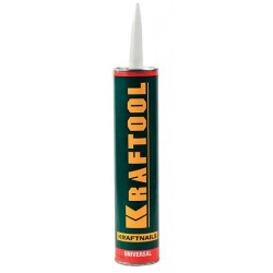 Клей монтажный KRAFTOOL KraftNails Premium KN-601, универсальный, для наружных и внутренних работ, 310 мл (Германия) / 41341