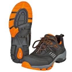 Защитные полуботинки STIHL WORKER S2, чёрные/оранжевые, р. 44 / 0000-885-1244