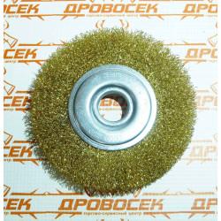 Дисковая щетка Ø125*22 мм (проволока 0,3 мм) ЗУБР / 35187-125