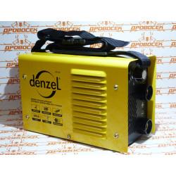 Инверторный аппарат дуговой сварки ММА-200 Compact DENZEL (200 А, ПВР 60%, диам. 1,6-5 мм) / 94336