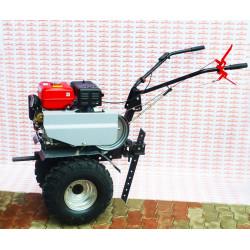 Мотоблок FORZA МБЭ FZ-02-9,0 FE (усиленный редуктор, удлиненный рычаг переключения передач колесо 19*7*8 + фрезы Forza)