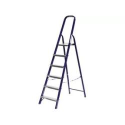 Лестница-стремянка стальная СИБИН, 6 ступеней, 124 см / 38803-06