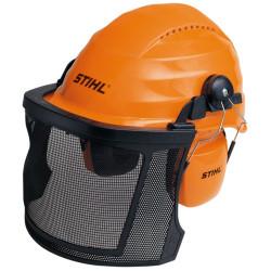 Шлем защитный с наушниками и маской STIHL / 0000-884-0141