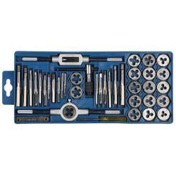 Набор резьбонарезного инструмента 40 предметов, в пластиковом боксе ЗУБР / 2810-H40