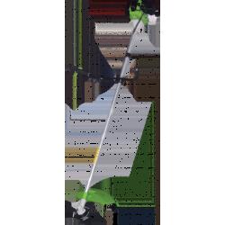 Бензиновый триммер Кратон GGT-1250H (1,7 л.с + леска + нож + ремень на оба плеча + хром.двигатель+ жесткий вал) / 3 16 02 018