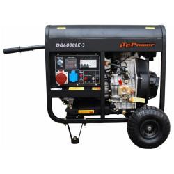 Дизельный генератор Hyundai DHY8000LE-3 (380 В)