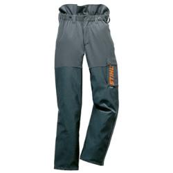 Непромокаемые брюки STIHL ADVANCE, антрацитовые/оранжевые, размер M / 0000-885-5552