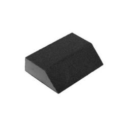 """Губка шлифовальная ЗУБР 4-сторонняя угловая,""""Мастер"""", средняя жесткость, Р80, 100х68х42х26 мм / 35613-080"""