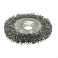 Щетка дисковая (125х16 мм; 12.7 мм) для точильно-шлифовальных станков Stayer / 35185-125