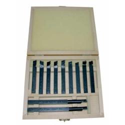Набор токарных резцов по металлу ЭНКОР 11 шт / 23362