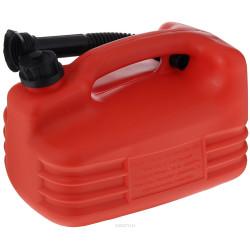 Канистра 5 литров для топлива с носиком / 53121
