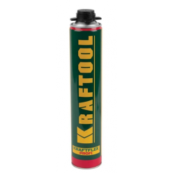 Монтажная пена для монтажного пистолета KRAFTOOL 750 мл (Германия) / 41181