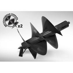 Шнек для мотобура 400 мм Carver, длина 800 мм