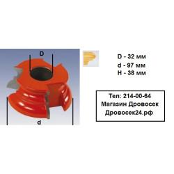 Фреза станочная кромочная фигурная КРАТОН / 1 09 07 029