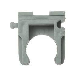 Скоба-держатель ЗУБР для металлопластиковых труб пластмассовая, 25 мм, 100 шт. / 4-44951-26-100