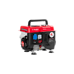 Бензогенератор ЗУБР ЗЭСБ-800 (800 Вт + 4-х тактный двигатель Honda GX 100 + 5 лет гарантии)