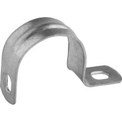 Скобы СВЕТОЗАР металлические для крепления металлорукава Ø15 мм, однолапковые, 100 шт. / 60211-15-100