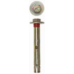 Болт анкерный ЗУБР с пластик. кольцом, 8х80 мм, 40 шт/упак. / 4-302312-08-080