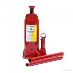 Домкрат гидравлический бутылочный ЗУБР (5 т. + высота подхвата - 216 мм + подъём на 413 мм)  / 43060-5
