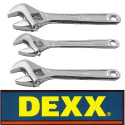 Ключи разводные Dexx