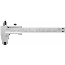 Металлический штангенциркуль,тип 1, класс точности 2, 250 мм, шаг 0,1мм Зубр / 3445-250