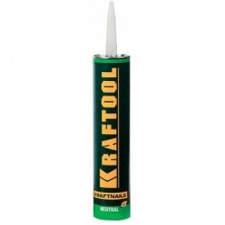 Клей монтажный KRAFTOOL KraftNails Premium KN-604, для молдингов, панелей и керамики, без растворителей, 310 мл (Германия) / 41349