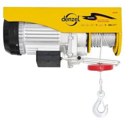 Тельфер электрический TF500 (500 кг, 1020 Вт, подъем 12 метров), DENZEL / 52012