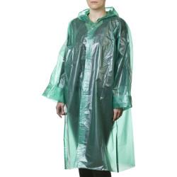 Плащ-дождевик STAYER MAXProtect, MASTER, полиэтилен, 50 мкм, цвет зеленый, S-XL / 11610