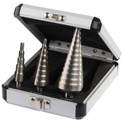 Набор ступенчатых сверл (Р6М5; 3 шт.) по металлу Зубр / 29670-4-30-H3