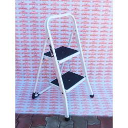 Лестница-стремянка стальная СИБИН, широкие ступени, 2 ступени, 46 см / 38807-02