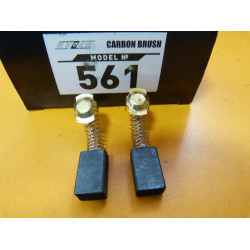 Щетка Интерскол на электропилу ДП-1600 / (№561) (2 шт) 7*11*18 мм