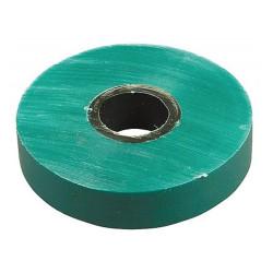 Изолента самозатухающая ПВХ ЗУБР зеленая  (ширина 19 мм + длина 20 м + 6000 В) / 1234-4