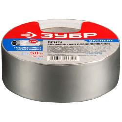 Лента алюминиевая, клеящая ЗУБР (ширина- 50 мм, длина - 50 м) / 12262-50-50