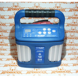 """Зарядное устройство ЗУБР """"ПРОФЕССИОНАЛ"""" (12В, 12А, автомат, IP65, AGM, GEL, WET) / 59305"""