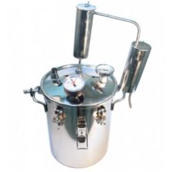 Автоклав-стерилизатор «Консерватор» 2 в 1 (14л + надстройка для самогоноварения «Классик-аромат»)