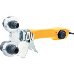 Аппарат для сварки пластиковых труб DWP-750, 750Вт, 0-300 град., 4 насадок, 20 - 40 мм DENZEL / 94203