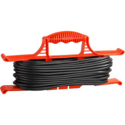 Удлинитель 10 метров Rucelf (ПВС 2х0,75 + 1300 Вт) / ER-10-001